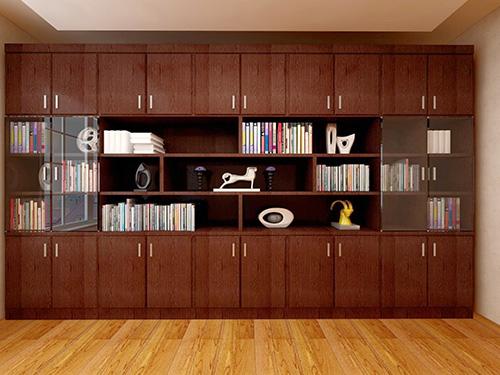 整体组合书柜