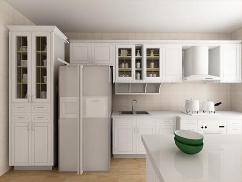 开放式厨房定制橱柜