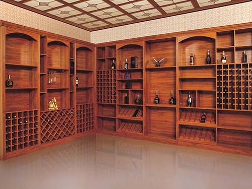 营口中式酒柜