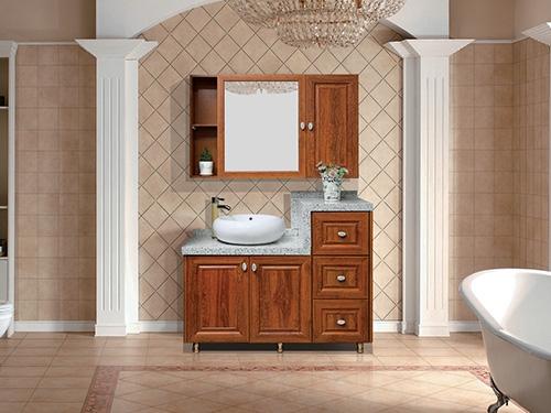 大连中式浴室柜