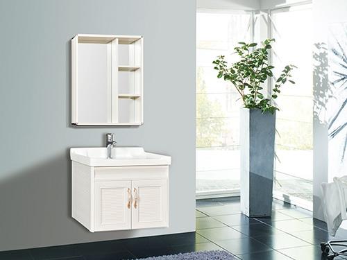 悬挂式浴室柜