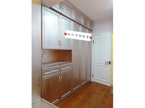 大连衣柜玄关组合柜